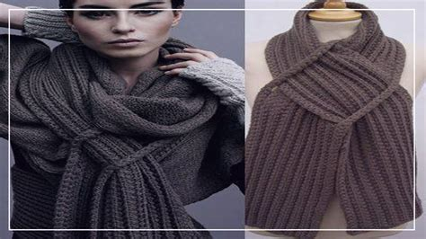 bufanda tejida crochet 2016 bufandas tejidas modernas 2016