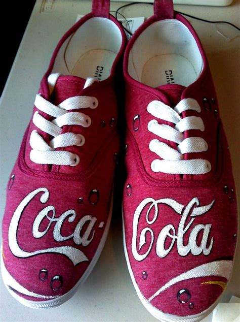 coca cola slippers coca cola shoes by kiwi6 on deviantart