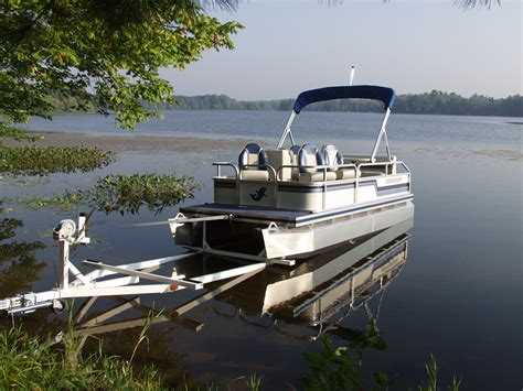 boat trailer rollers pontoon pontoon trailers pontoon boat trailers for sale in wisconsin
