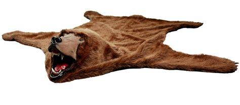 Faux Polar Skin Rug With by Realistic Faux Skin Rug Black Brown White Polar Ebay