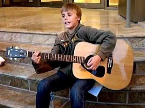 justin bieber biography before he was famous justin bieber singing before he was famous 13 years old