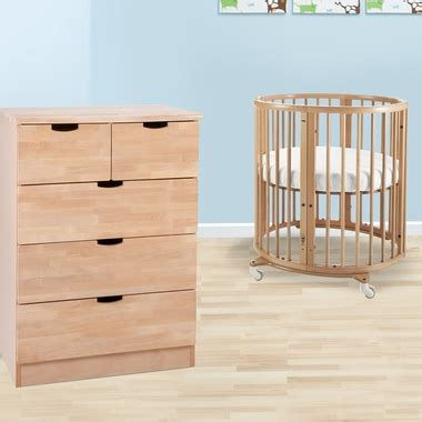 Mini Crib With Drawers Stokke Sleepi 2 Nursery Set Mini Bundle Crib And 5 Drawer Dresser In Free Shipping