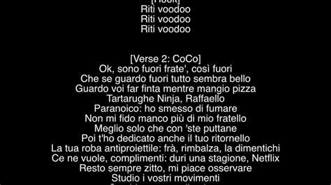 testo non dormire gemitaiz voodoo qvc7 lyrics testo