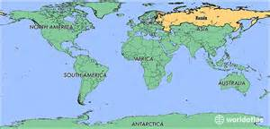 Russia World Map by Where Is Russia Where Is Russia Located In The World