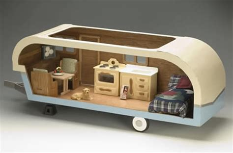 mini trailer house miniature travel trailer kit