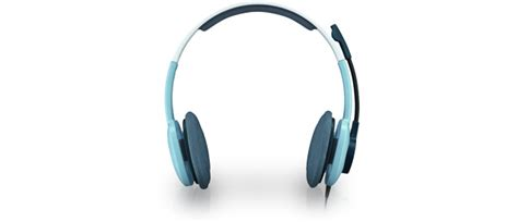 Logitech Stereo Headset H 250 logitech st 233 r 233 o headset h250 blue micro casque logitech sur ldlc