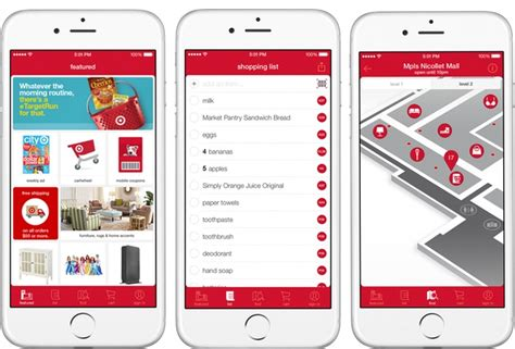 target has lots in store the app store that is for