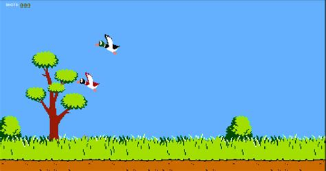 Duck Hunt duck hunt js mobile html