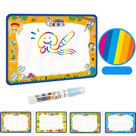 water doodle mat india 50x34cm baby add water with magic pen doodle painting