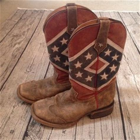 84 roper shoes roper rebel flag cowboy boots from s closet on poshmark