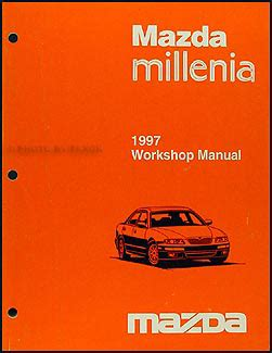 how to fix cars 1997 mazda millenia user handbook 1997 mazda millenia wiring diagram manual original