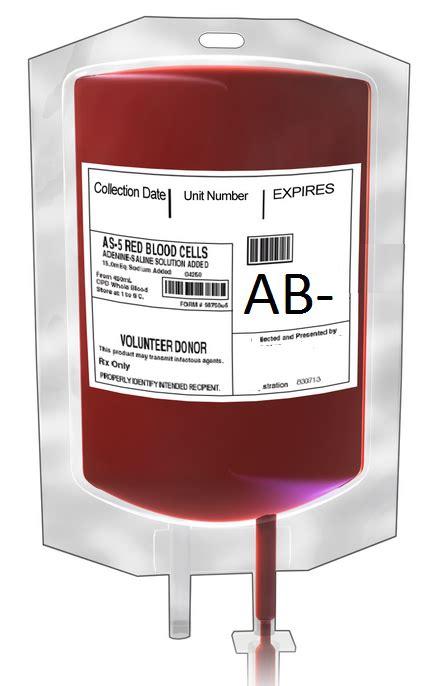 Ab Blood Type ab negative tv tropes