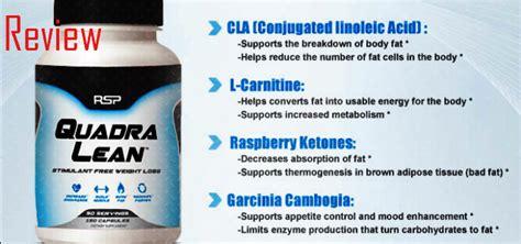New Suplemen Fitness Rsp Quadralean 180 Caps Quadra Lean Thermogenic 1 quadralean weight loss formula review rsp nutrition newest bodybuilding supplements