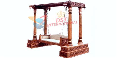antique wooden swing antique wooden carved swing dst international