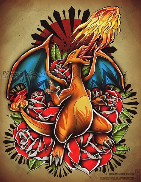 photoshop tattoo design best 25 charizard ideas on charizard