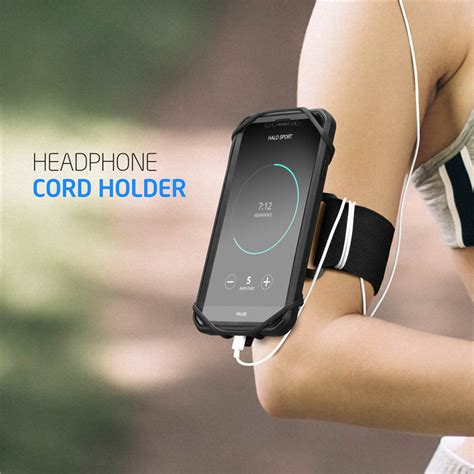 supcase detachable mount armband for iphone x xs max xr for galaxy note 9 s9 s8 plus bib