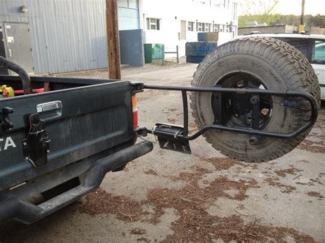 swing out tire carrier pickup swing out spare tire carrier yotatech forums
