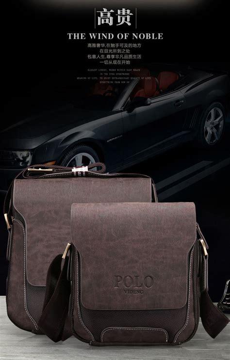 Tas Laptop Polo Original polo tas selempang pria model vertical large brown jakartanotebook