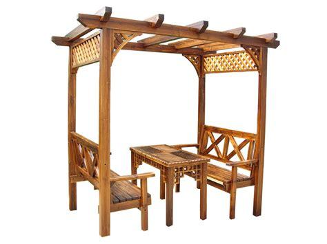 Gazebo de /Wooden del pabellón/muebles al aire libre (SC