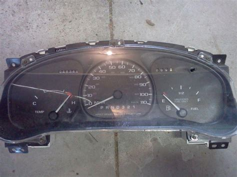 automotive repair manual 2000 chevrolet venture instrument cluster dash parts for sale page 589 of find or sell auto parts