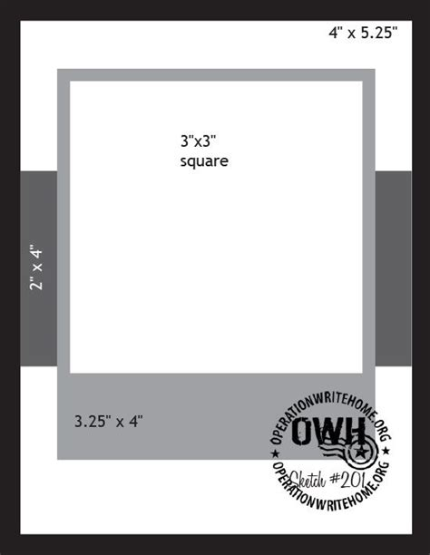 Card Template Sketch by 659 Best Card Sketches Measurements Tips Images On
