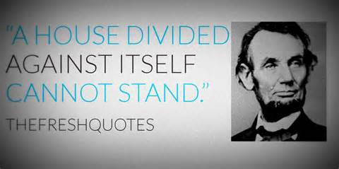 A House Divided Quote by Divided Country Quotes Like Success