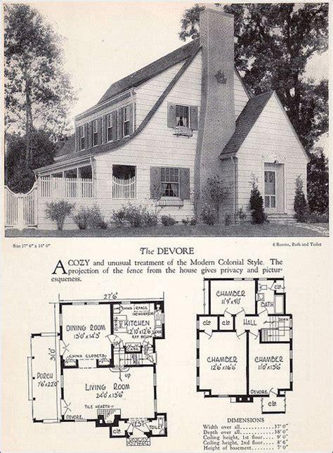 antique colonial house plans 1000 images about vintage home plans on pinterest house plans vintage house plans