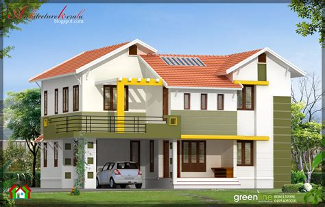 home design in kerala style architecture kerala 4 bhk contemporary style indian home