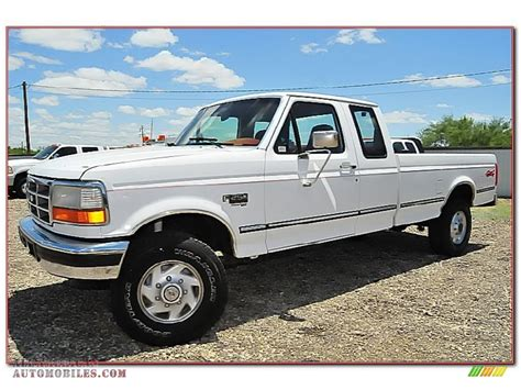 1995 Ford F250 by 1995 Ford F250 Xlt Extended Cab 4x4 In Oxford White