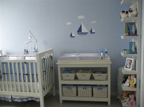 Boy Nursery Decorations Baby Room Ideas On Pinterest Nautical Nursery Baby Bags A