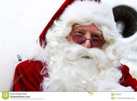close up of santa claus stock image image 35054901