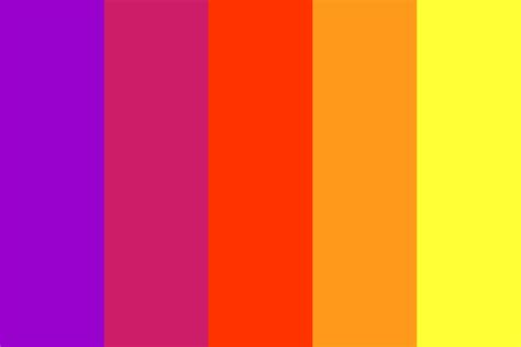 color sunset simple sunset color palette