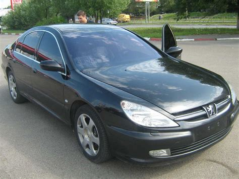used peugeot 607 2003 peugeot 607 photos 3 0 gasoline ff automatic for sale