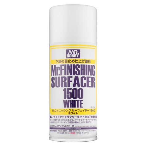 Dijamin Mr Finishing Surfacer 1500 White b 529 mr finishing surfacer 1500 white spray mr hobby b 529