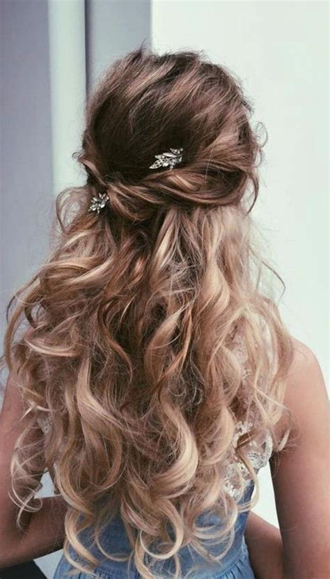 hairstyles for curly long hair for prom 20 best ideas of long prom hairstyles