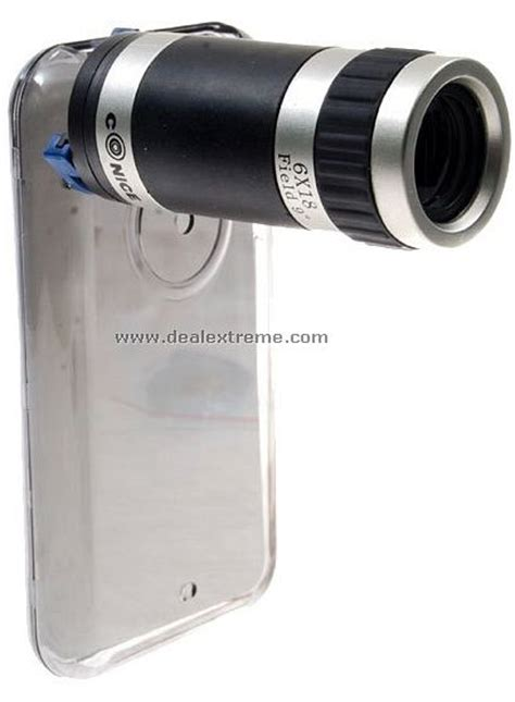 iphone zoom lens  ready   close  technabob