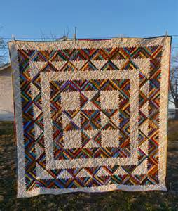 The Log Cabin Quilt by Lovin At The End Of The Dirt Road Log Cabin Quilt