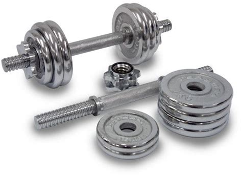 Dumbell Kettler 2 Set 20 Kg 20 kg set chrome dumbbells price review and buy in uae dubai abu dhabi souq