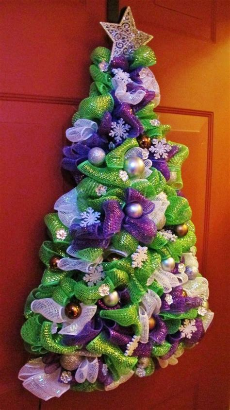 69 best diy christmas tree mesh images on pinterest