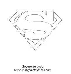 pics photos superman logo stencil template picture