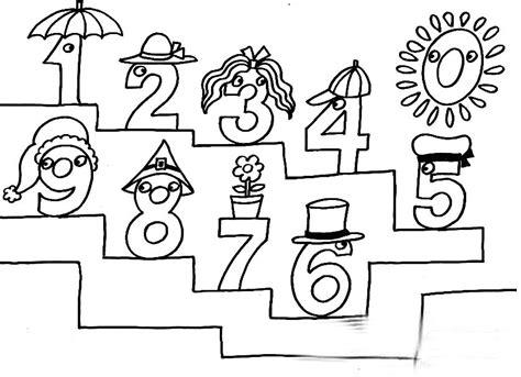 imagenes para colorear numeros dibujos de puntos y colorear colorear numeros
