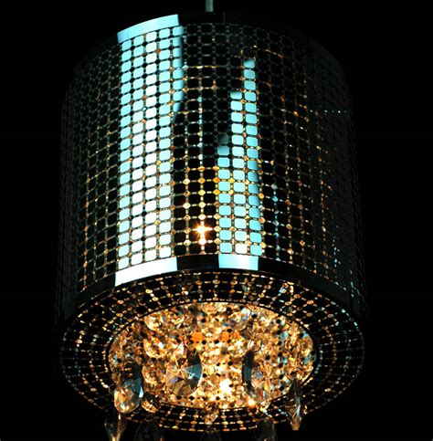 Ceiling Light Shade With Crystals by Silver Shade Chandelier Ceiling Light By Made With Designs Ltd Notonthehighstreet