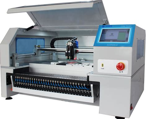Table Top Vision Pnp Machine Smd Placement Machine Smt Best Machine For Lining