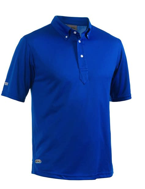 Polo Shirt Errea Tech Polo Shirt Blue