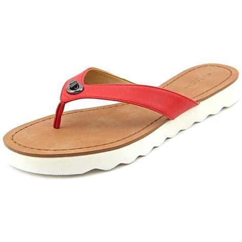 sandal outlet coach bags clearance for sale coach shelly flip flop