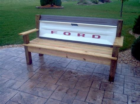how to make a tailgate bench ford tailgate bench