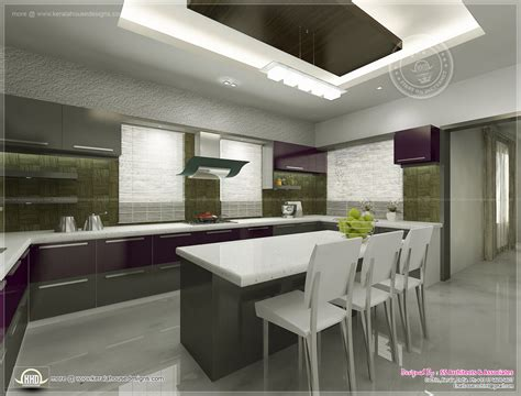 kitchen interiors design kitchen interior views by ss architects cochin home kerala plans