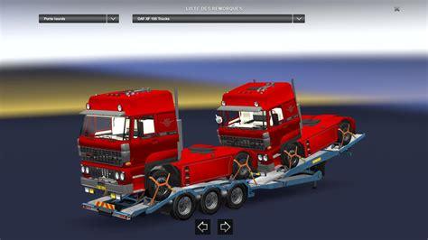 mod game ets 1 trailer with daf 3600 v1 0 ets2 ets2 mod