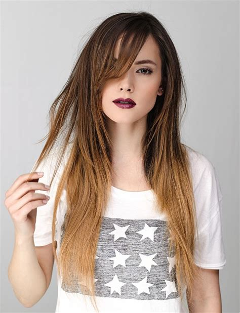 haircuts for long straight brown hair a long brown hairstyle from the personality 2013