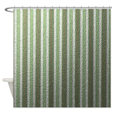 green and white striped shower curtain stripes soft green shower curtain by mehrfarbeimleben